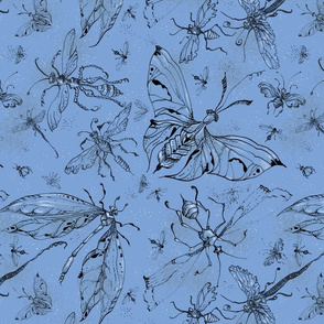 nightbug_blue large motif
