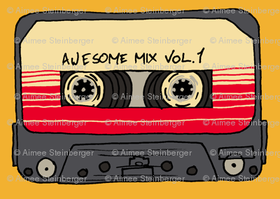 Awesome Mix Tape Vol 1