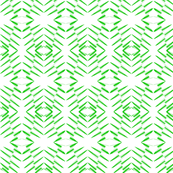 Art Deco Style Green