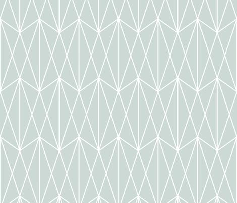 Diamond Grid - Ice Blue