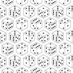D6 dice x 6