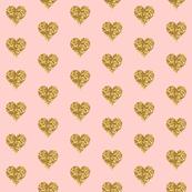 Glitter Heart on Pink!