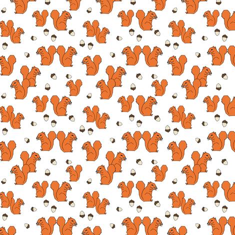 Squirrels - Orange (Tiny Version) by Andrea Lauren