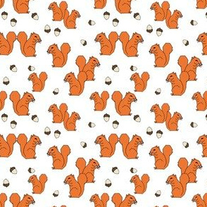 Squirrels - Orange (Tiny Version) by Andrea Lauren