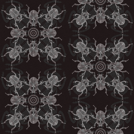 Dung Dancers fabric by tonibaloney on Spoonflower - custom fabric