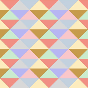 Ice Cream Parlor ~ Modernist Triangles