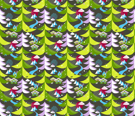 Swiss Hike fabric by paula's_designs on Spoonflower - custom fabric