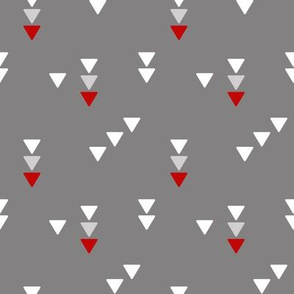 Modern Triangles Gray