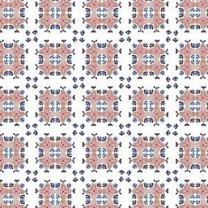 Painted Floral Plaid