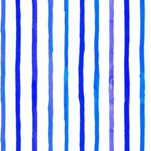 Sparse Blue Stripes