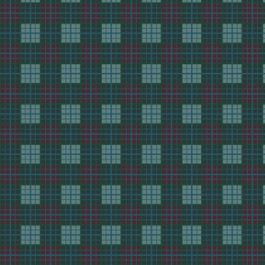 Mini Tartan of an arrow slinging clan. Brave