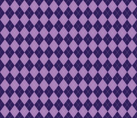 Argyle - Purple