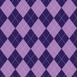Argyle - Purple