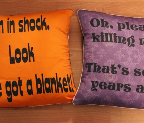 Sherlock lines S1-3 cushions