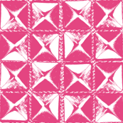 studs pink on white