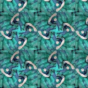 Batiklike bluegreen