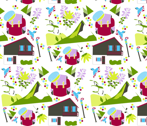 hiking2 fabric by kny on Spoonflower - custom fabric