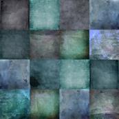 blue grid - squares