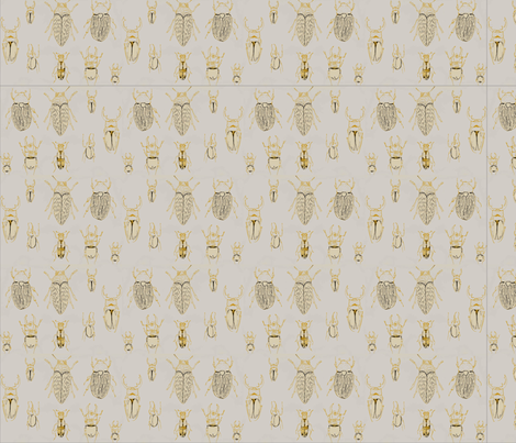 beetle-o fabric by zoyz on Spoonflower - custom fabric