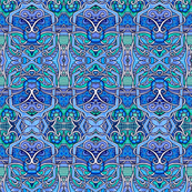 Grate Blue Tangles