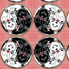 Yin Yang Plaid Terriers