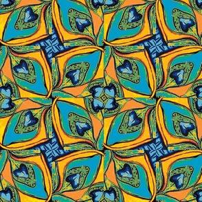 Peacock Pinwheel