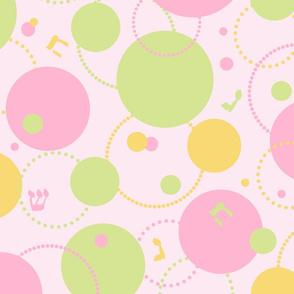 Lilypad Dreidels 2 - Pink