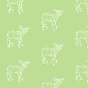 DeerDeer_RetroGreenPrint