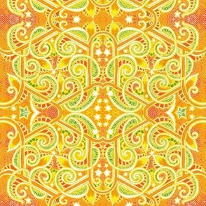 """Candy Color 8"""" Paisley Charm Squares"""