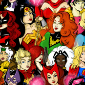 Super Heroines (med)