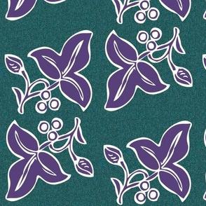 batik-2sprig4x7-eggpl265-on-dkgrnblpattern150_copy