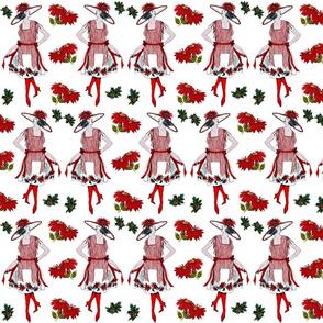 VINTAGE CHRISTMAS TWINS