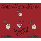 Zombies Nom Nom Red