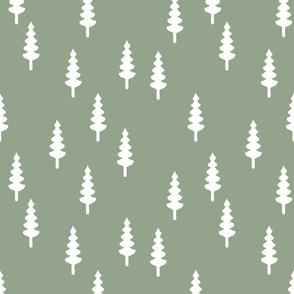 trees on sage