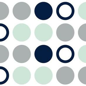 Polka Dots (large) // Northern Lights