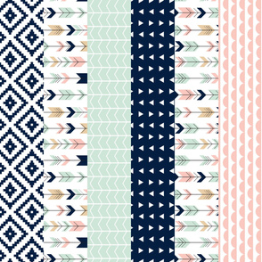 Briar Woods Wholecloth 1 yard cut // cheater quilt