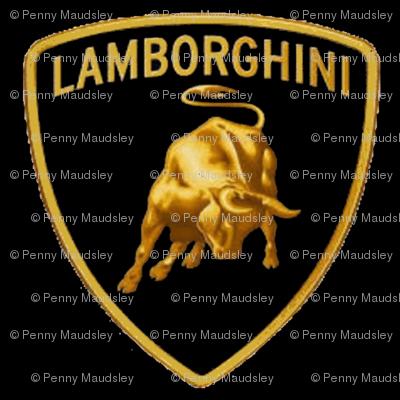 LAMBORGHINI BLACK CREST