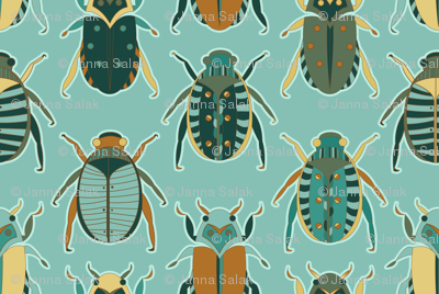 Scarab Beetles