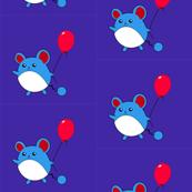 Marill Pokemon with a Balloon