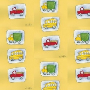 Cars, Trucks, and Buses Oh My!
