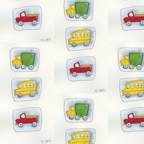 Cars, Trucks, and Buses Oh My 2!