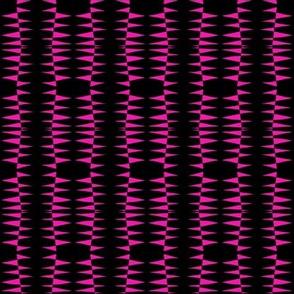 Columns Pink Black
