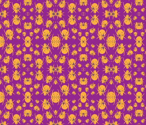 Beetle Pop fabric by ashlyinwonderland on Spoonflower - custom fabric