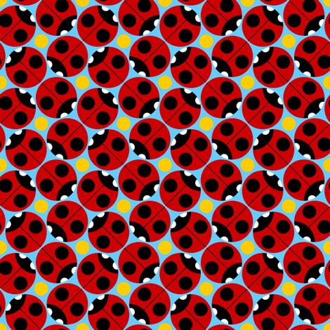 2-spot ladybird orgy