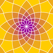 SC3 spiral tile - warm