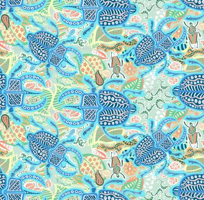Beetles dream blue