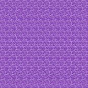 Happy Birthday Purple pattern by Roseanne Jones