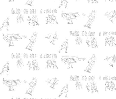 Sunday morning, East Leake fabric by van_laun on Spoonflower - custom fabric