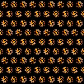 flaming_mockingjay_odds_ornament_round