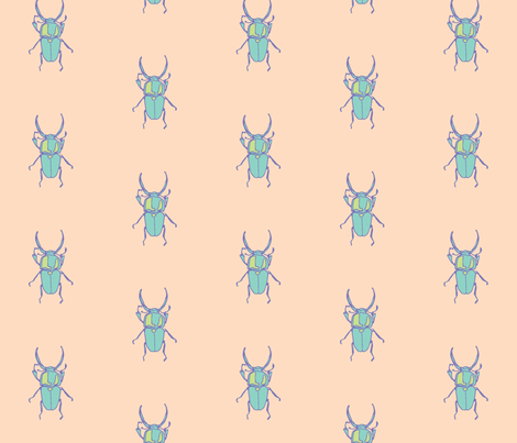 Beetle Dance fabric by briggsa on Spoonflower - custom fabric